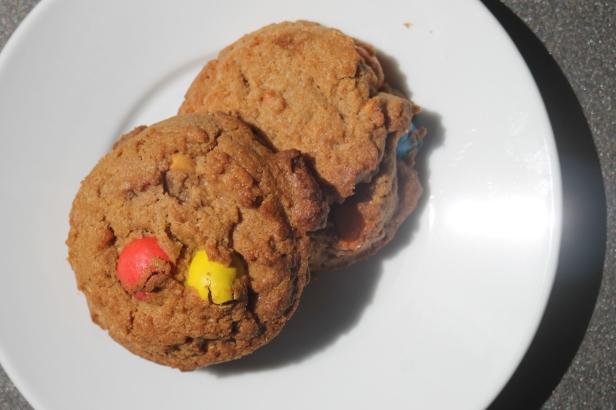 Cookies de m&ms